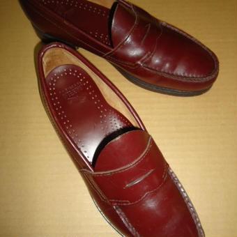 248 革靴 22 BASS ローファー