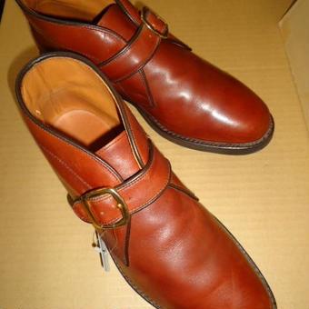 268 革靴 26 アレンエドモンズ チャッカブーツ SOLD