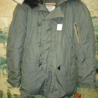 263 軍物ジャケット13 N-3B 1977 XX-SMALL SOLD