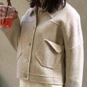 【予約アイテム】ハンドメイド ウールジャケット