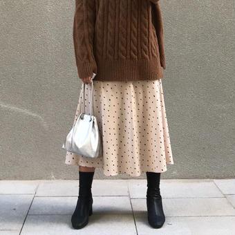 【予約アイテム】simpledot  skirt
