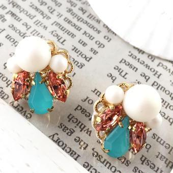 summer turquoise pierce