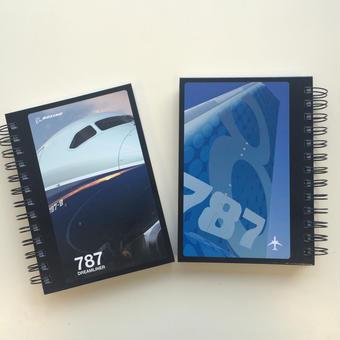 3社の企業研究を1冊で☆ボーイング787リングノート