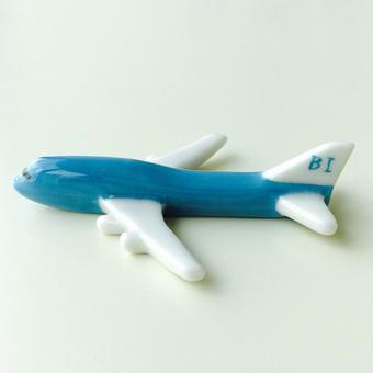 ヒコーキ箸置き(ブラニフ航空 / B747-400)