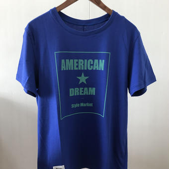 AMERICAN DREAM TEE/BLUE