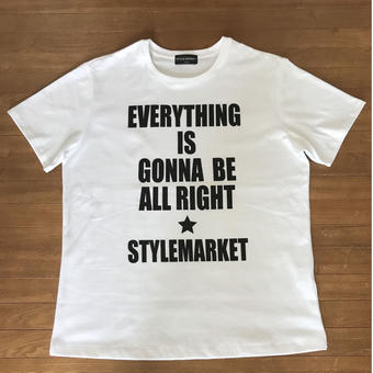 EVERY THING IS GONNA BE ALL RIGHT / WHITE TEE