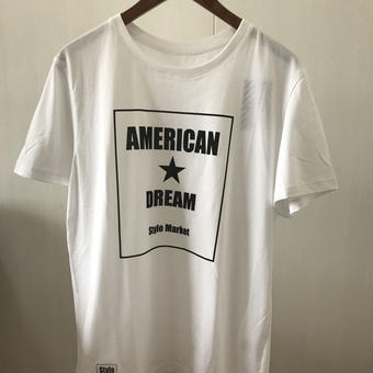 AMERICAN DREAM TEE/WHITE