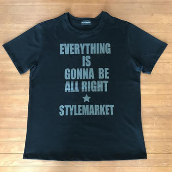 EVERY THING IS GONNA BE ALL RIGHT / BLACK TEE