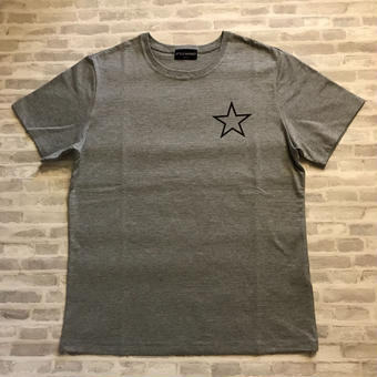 ONE STAR TEE / GREY