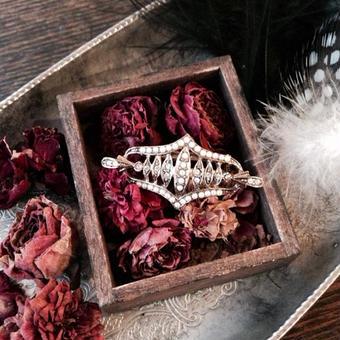 costume jewelry / brooch コスチュームジュエリー ブローチ    ■ta-214