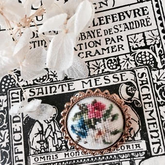 costume jewelry/brooch コスチュームジュエリー ブローチ    ■td- 948