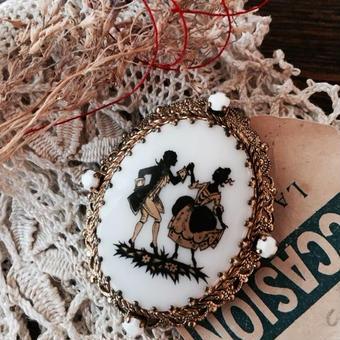 costume jewelry/brooch コスチュームジュエリー ブローチ    ■td-486