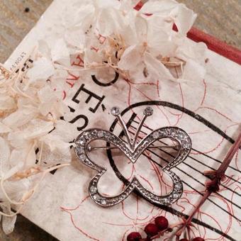 costume jewelry/brooch コスチュームジュエリー ブローチ    ■td-586
