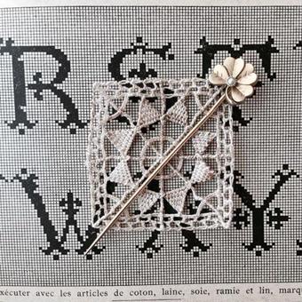 costume jewelry/cravat pin コスチュームジュエリー    ■ta-663