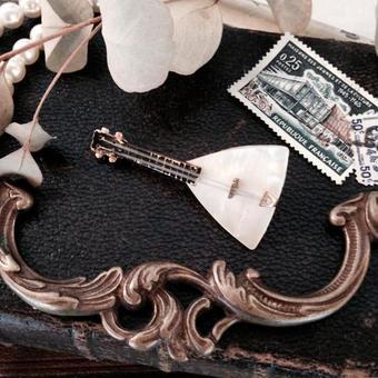 costume jewelry/brooch コスチュームジュエリー ブローチ   ■tb-604