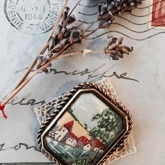 costume jewelry/brooch コスチュームジュエリー ブローチ    ■td-663