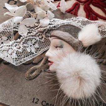 costume jewelry/brooch コスチュームジュエリー ブローチ    ■td-699