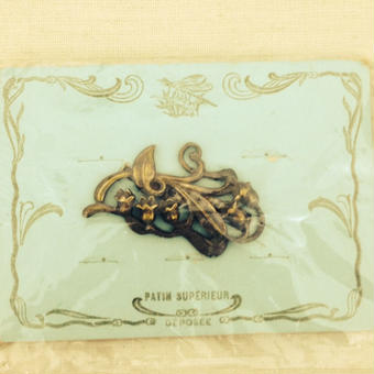 costume jewelry /brooch    ■ta-394