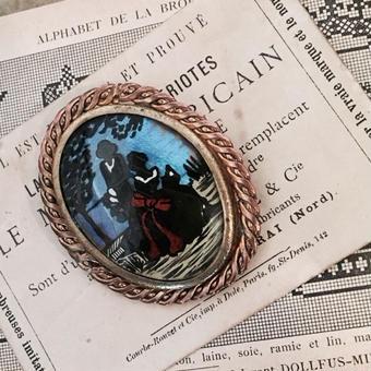 costume jewelry/brooch コスチュームジュエリーブローチ    ■td-736