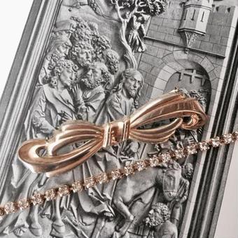 costume jewelry/brooch コスチュームジュエリー ブローチ    ■td- 957