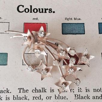 costume jewelry/brooch コスチュームジュエリー ブローチ    ■td- 897