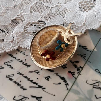 costume jewelry/brooch コスチュームジュエリー ブローチ    ■td-744