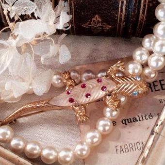 costume jewelry/brooch コスチュームジュエリー ブローチ    ■td-599