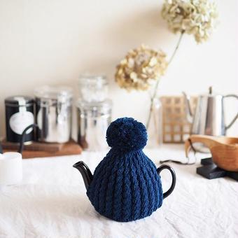 amu.さんの tea cozy marin(ネイビー)