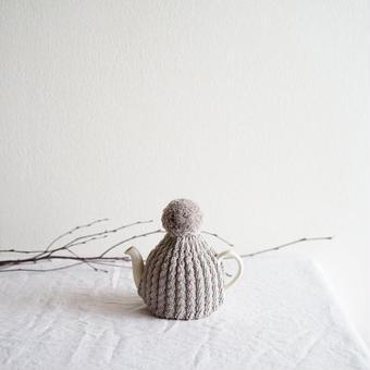 amu.さんの tea cozy sable(ベージュ)