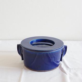 馬酔木 誠(アセビマコト)さんのキャセロール    2合炊き ブルー