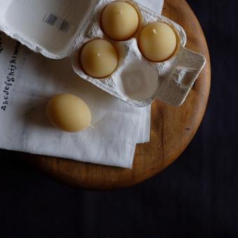 card_yaさんのキャンドル  egg (4個パック)