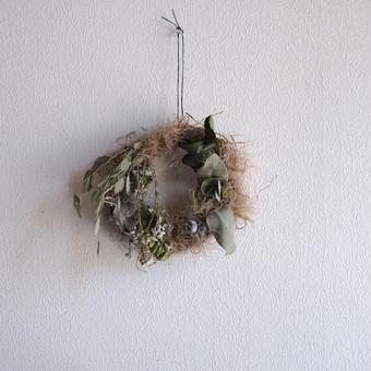 増田 由希子さんのリース 鳥の巣