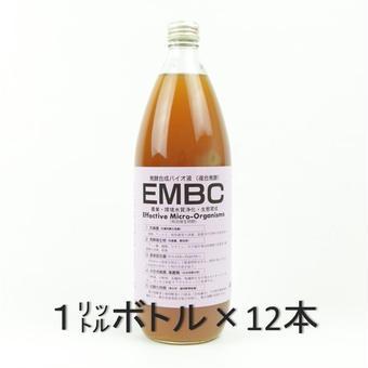 EMBCモルト12本セット(農業・環境水質浄化・生体育成)
