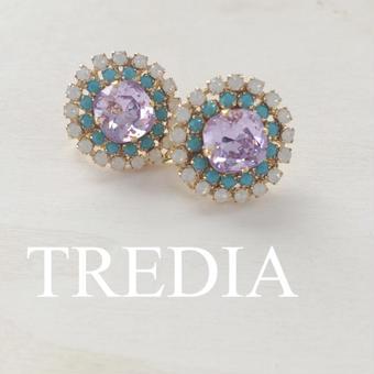 bijou earring(purple)