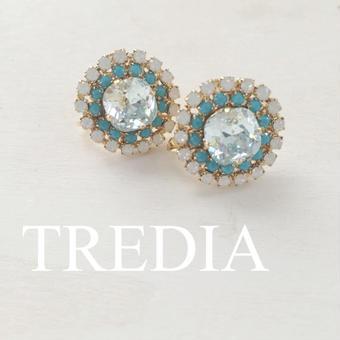 bijou earring (blue)