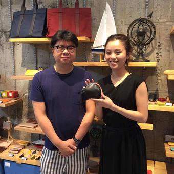 【ENVIEプロジェクト vol.1 STUDIO KIICHI×小関ミオ】  がま口財布