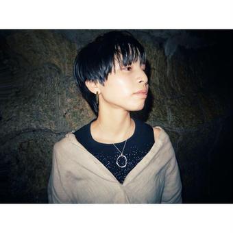 夢幻 -distortion- silver necklace