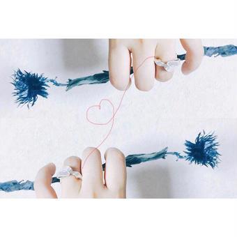 結び糸 ring (silver950)