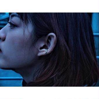 """ Jekyll&Hyde"" (善&悪) ear cuff"