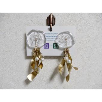 ⑤jelly fish earring (ホワイト)(再販)