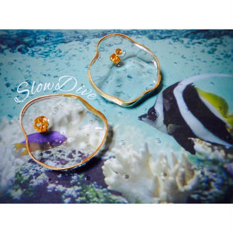 Slow Dive pierce(earring)