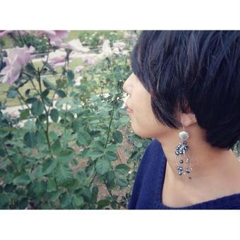 水泡 pierce(earring)