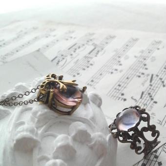 *新春Special福袋* ロザリンリラSet(ネックレス&指輪)