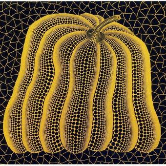 草間彌生 かぼちゃ黄色 リトグラフ版画(53)