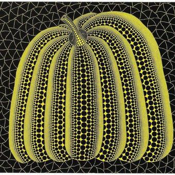 草間彌生 かぼちゃ黄色 リトグラフ版画 (62)