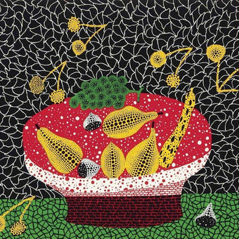 草間彌生 果物 リトグラフ版画 (12)