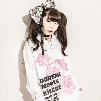 Kit Cat × doremi 大きめパーカー