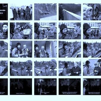 青焼きポスター(A1)|ベルンで熊を拍手喝采する, 2011