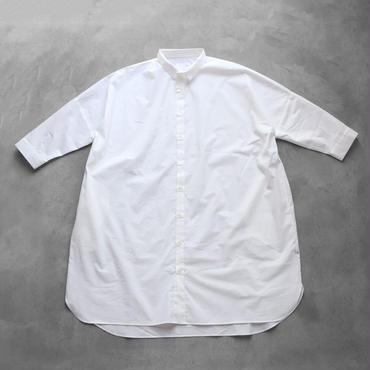 コットンロングシャツ【ユニセックス】