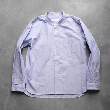 タイプライタークロスバンドカラーシャツ【ユニセックス】